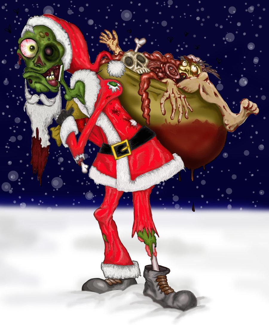 zombie-mikolaj